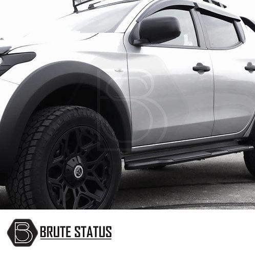 Fiat Fullback Door Handle Covers- Matt Black