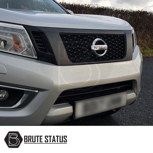 Nissan Navara NP300 2015-2019 Front Grille Matt Black Nismo Style