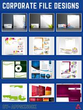 Corporate file designs