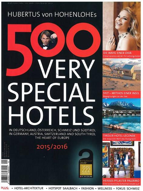 ZEITSCHRIFT: VERY SPECIAL HOTELS
