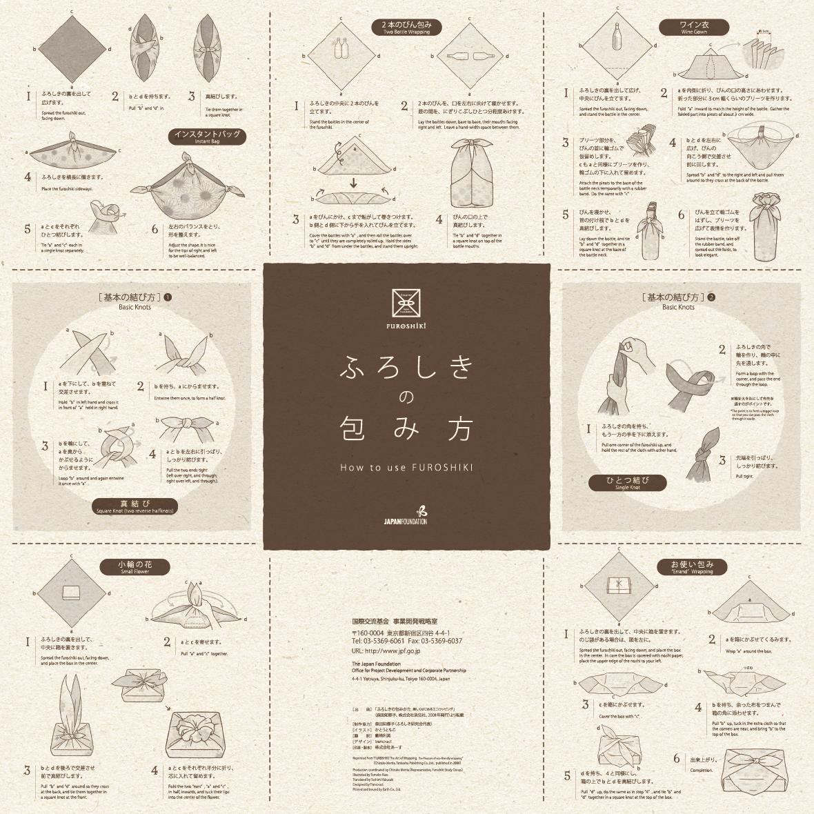 ミニパンフレット デザイン
