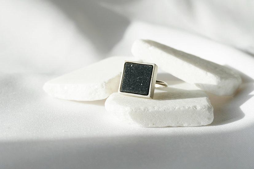 Ring BLACK onyx / Big