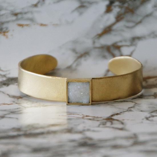 Bracelet WHITE Agate / Small