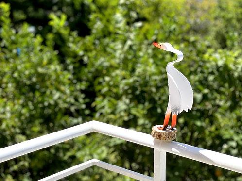 ציפור נוי למעקה-  002  ⭐⭐⭐⭐⭐