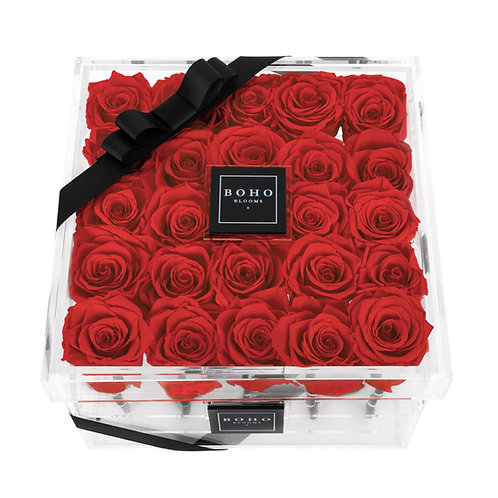 Red Classic Bloom Box