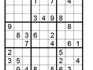 Sudoku eenvoudig 04