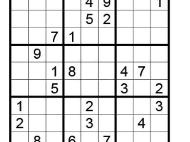 Sudoku moeilijk 08