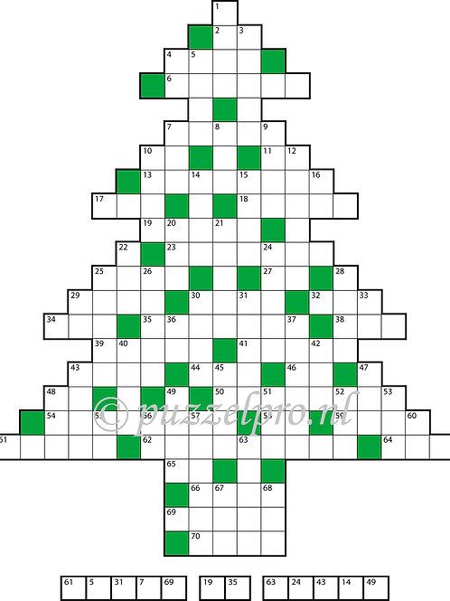 Kerstboom klein