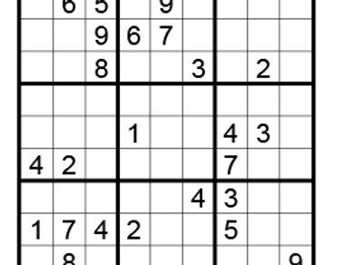 Sudoku moeilijk 01