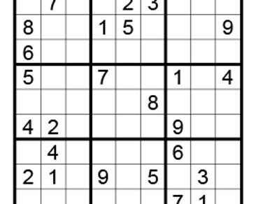 Sudoku moeilijk 09