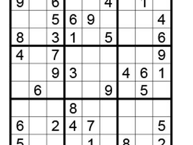 Sudoku eenvoudig 08
