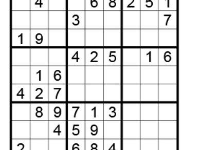 Sudoku eenvoudig 03