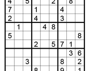 Sudoku moeilijk 07