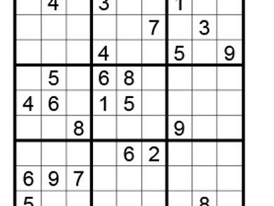 Sudoku moeilijk 06