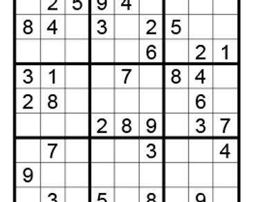 Sudoku eenvoudig 07