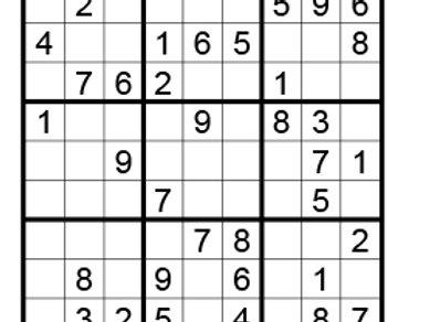 Sudoku eenvoudig 06