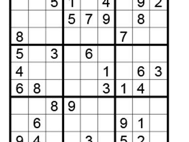 Sudoku eenvoudig 09