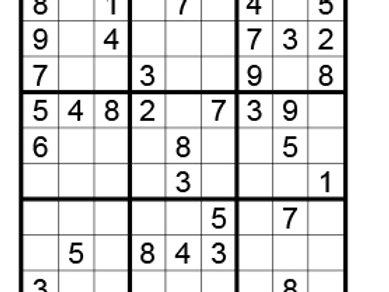 Sudoku eenvoudig 01