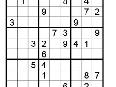 Sudoku moeilijk 05