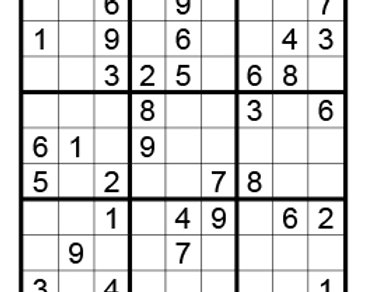 Sudoku eenvoudig 10