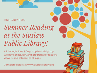 Summer Reading at the Siuslaw Public Library