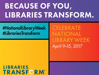 National Library Week is Coming!