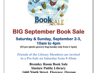 Friends of the Library Book Sale!