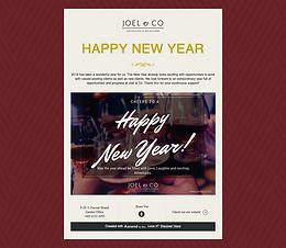 Happy New Year Joel & Co