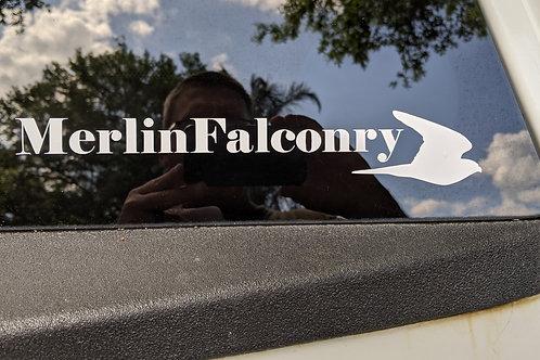 Melin Falconry Decal (Horizontal)