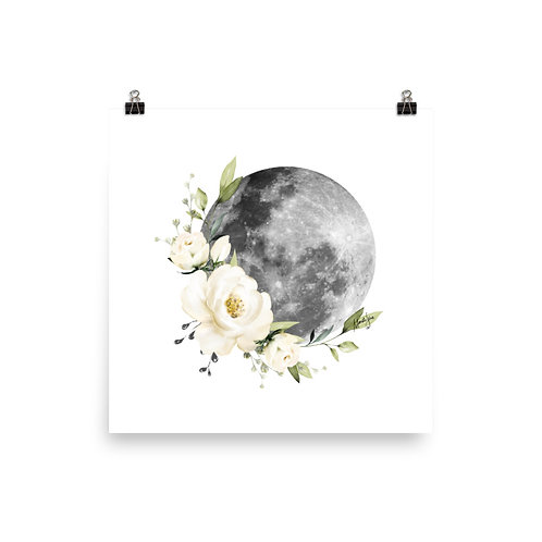 Floral Moon