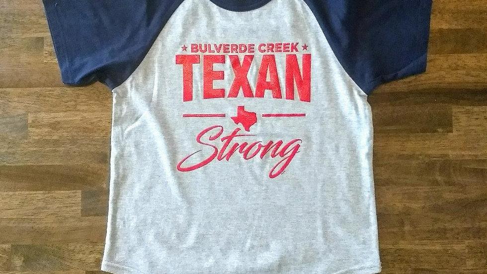 Texan Strong Bling Shirt