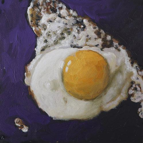 """Fried Egg Original 6 x 6"""""""
