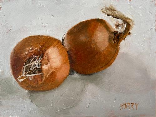 "Double Onion 6 x 8"""