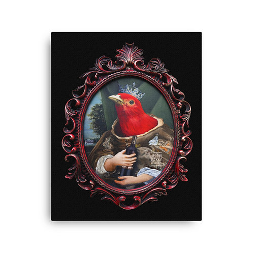 16 x 20 Red Queen Canvas Print
