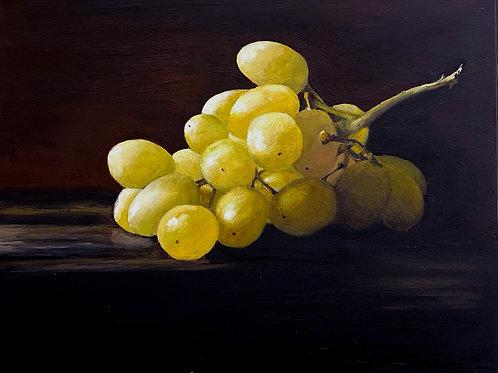 "Green Grapes 6 x 8"""
