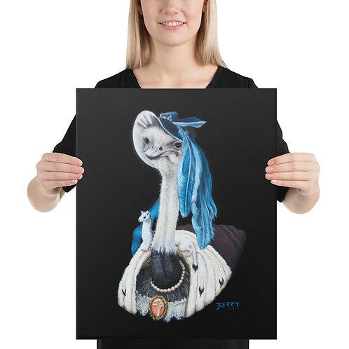 16 x 20 Duchess in Ermine Stole Canvas Print