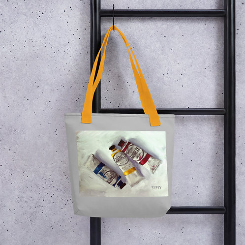 Paint Tubes Tote Bag