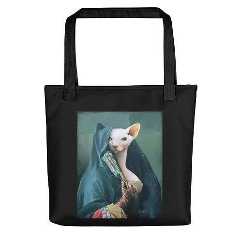 Contessa with Oriental Fan Tote Bag