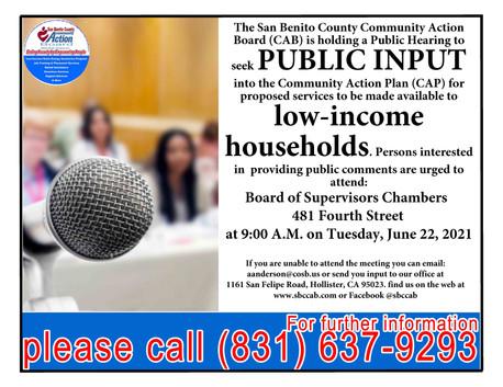 2022-2023 2nd Public Hearing BOS 06.22.21