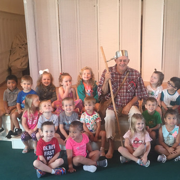 Johnny Appleseed Visit