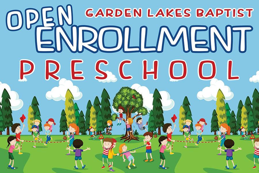 Garden Lakes Baptist - Preschool Open En