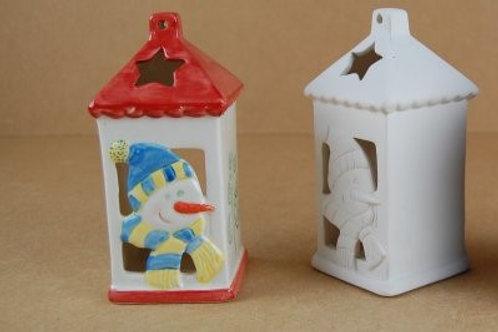 Snowman Tea light holder