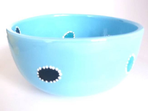 Chunky cereal bowl