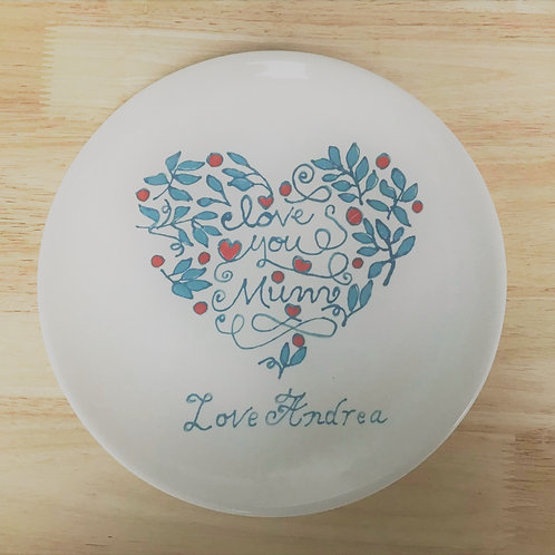Personalised Mothers Day Plate
