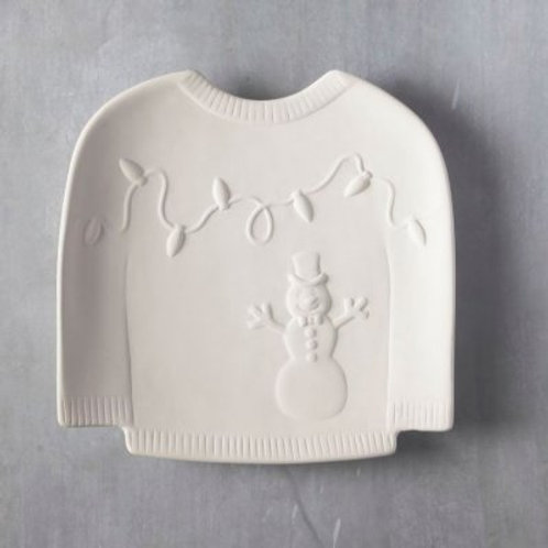 Christmas Jumper plate