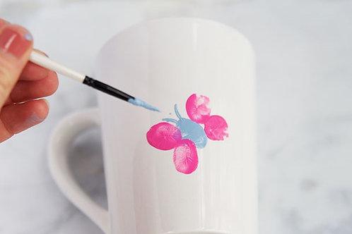 Dovery Down School Mug Painting