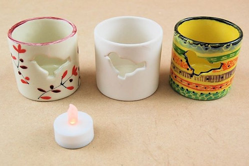 Bird T Light Candle Cup