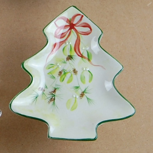 Small Christmas tree plate/dish