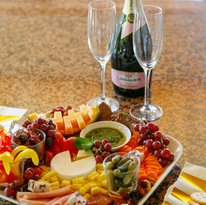 Grazing Platter - A delicious holiday treat. $90 for 4 people. $60 for 2 people.