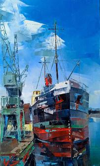 STEAM SHIP FORWARD